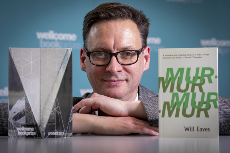 Will Eaves wins Wellcome Book Prize 2019